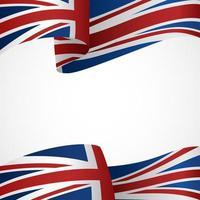 fundo do banner da bandeira do reino unido