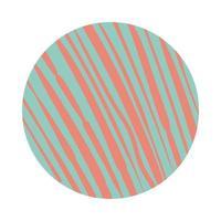 estilo de bloco de padrão orgânico de linhas