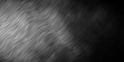 modelo de vetor cinza escuro com linhas.