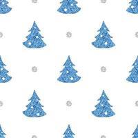 Seamless pattern background com pinheiro simples