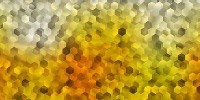 padrão de vetor laranja claro com formas abstratas.
