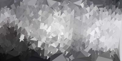 modelo de triângulo poli de vetor cinza claro.