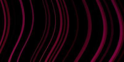textura vector rosa escuro com arco circular.