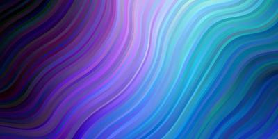 fundo de vetor rosa escuro, azul com arco circular