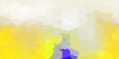 papel de parede de mosaico de triângulo de vetor cinza claro.