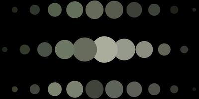 padrão de vetor cinza claro com círculos.
