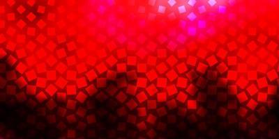 layout de vetor rosa escuro, vermelho com linhas, retângulos.