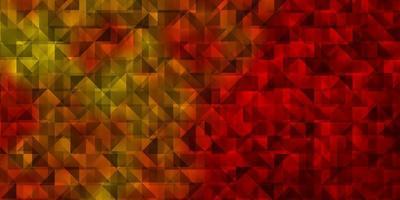 fundo laranja claro do vetor com triângulos.