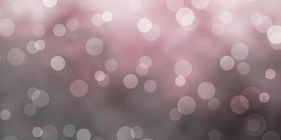 fundo cinza claro do vetor com bolhas.