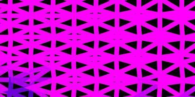 desenho de polígono gradiente vector roxo escuro.