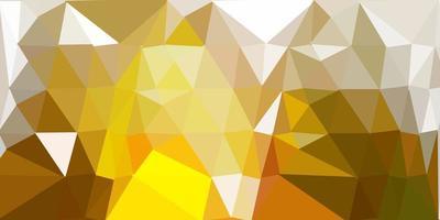 layout poligonal geométrico do vetor verde e amarelo escuro.