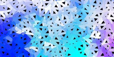 textura de triângulo poli vector rosa escuro, azul.