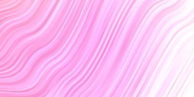 textura vector rosa claro com linhas irônicas.