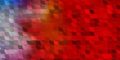 modelo de vetor multicolor de luz com retângulos.