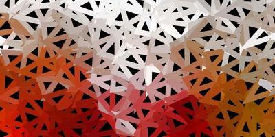 layout poligonal geométrico de vetor verde e vermelho claro.