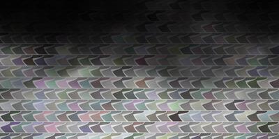 textura de vetor cinza claro em estilo retangular.