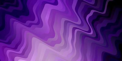textura vector roxo claro com arco circular.