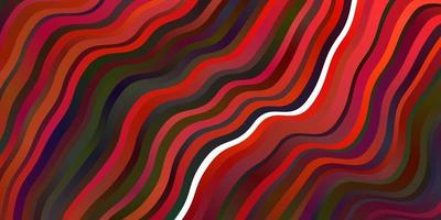 modelo de vetor vermelho escuro com linhas irônicas.