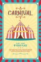 Carnaval do cartaz vetor