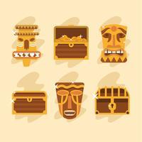Ícones de El Dorado vetor