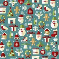 fundo de Natal e ano novo. vetor