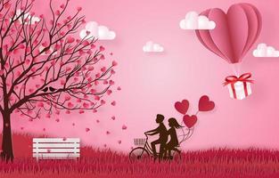 banner de celebração do feliz dia dos namorados vetor
