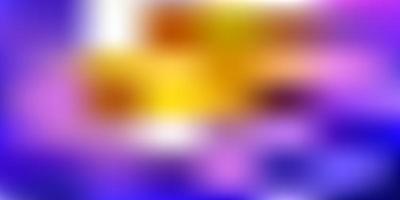 layout de borrão abstrato de vetor azul escuro e vermelho.