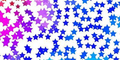 luz padrão multicolorido de vetor com estrelas abstratas.