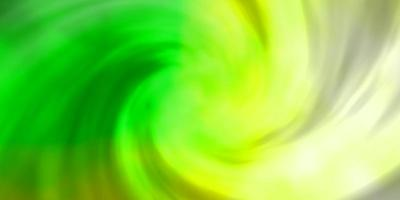 cenário de vetor verde claro com cúmulos.