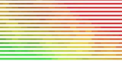 textura de vetor verde e vermelho claro com linhas.