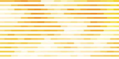 pano de fundo vector laranja claro com linhas.