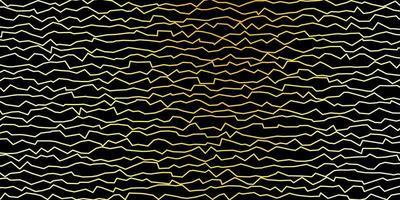 fundo vector verde escuro e amarelo com linhas dobradas.