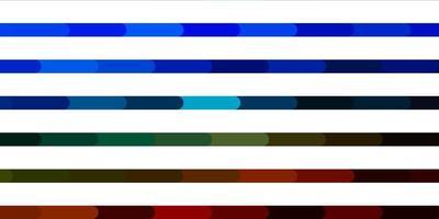 layout de vetor multicolorido escuro com linhas.