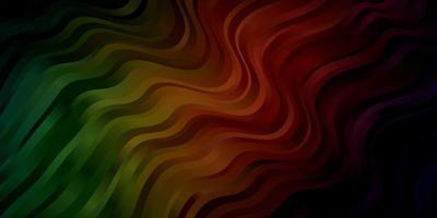 fundo vector verde e vermelho escuro com linhas.