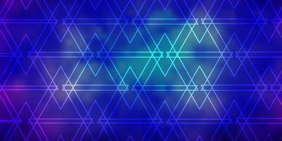 fundo vector rosa escuro, azul com estilo poligonal.