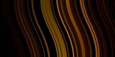 fundo vector verde escuro e amarelo com linhas curvas.