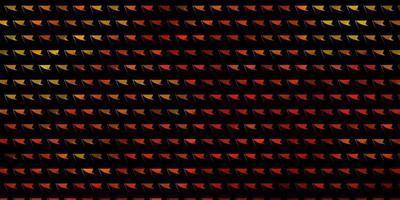 fundo vector laranja claro com estilo poligonal.