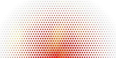 pano de fundo vector laranja claro com pontos.