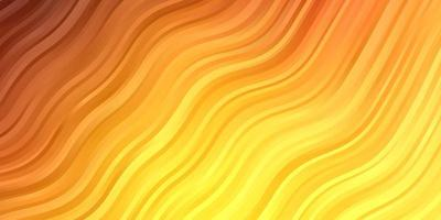 fundo vector laranja claro com linhas curvas.