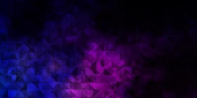 fundo vector rosa escuro, azul com triângulos.