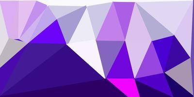 desenho poligonal geométrico vector roxo e rosa escuro.
