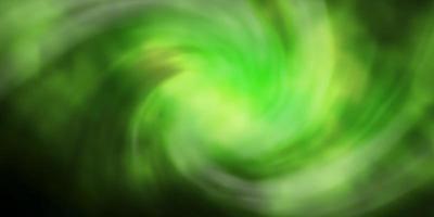 layout de vetor verde escuro com cloudscape.