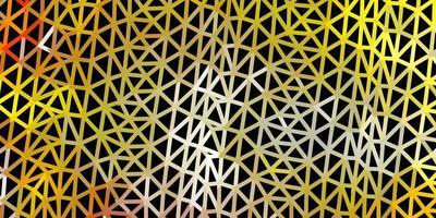 fundo do triângulo do sumário do vetor da laranja clara.