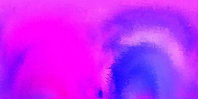 papel de parede de polígono gradiente de vetor roxo claro e rosa.