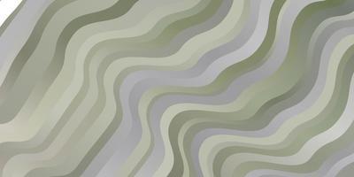 padrão de vetor cinza claro com curvas.