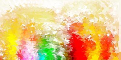 papel de parede luz multicolor vetor gradiente polígono.