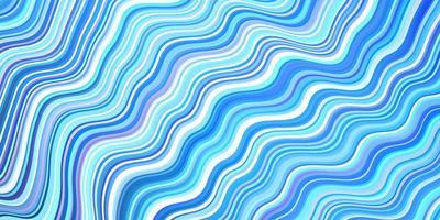 modelo de vetor azul escuro com linhas curvas