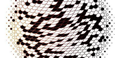 textura vetorial laranja-escura com círculos