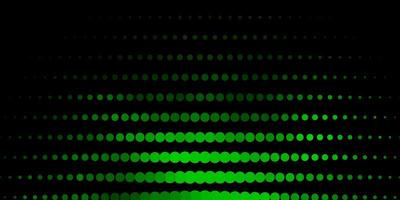 textura vector verde escuro com discos.
