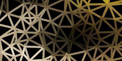 pano de fundo do triângulo abstrato do vetor cinza claro.